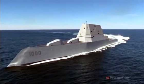 USS Zumwalt Deployed for Further Training